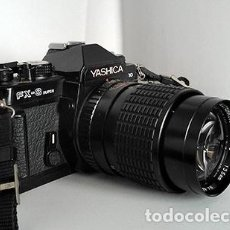 Cámara de fotos: YASHICA F-X3 SUPER 2000 + LENTE 135 · 2,8. CÁMARA PARA FOTÓGRAFO: 100% MECÁNICA, 100% MANUAL. Lote 242395310