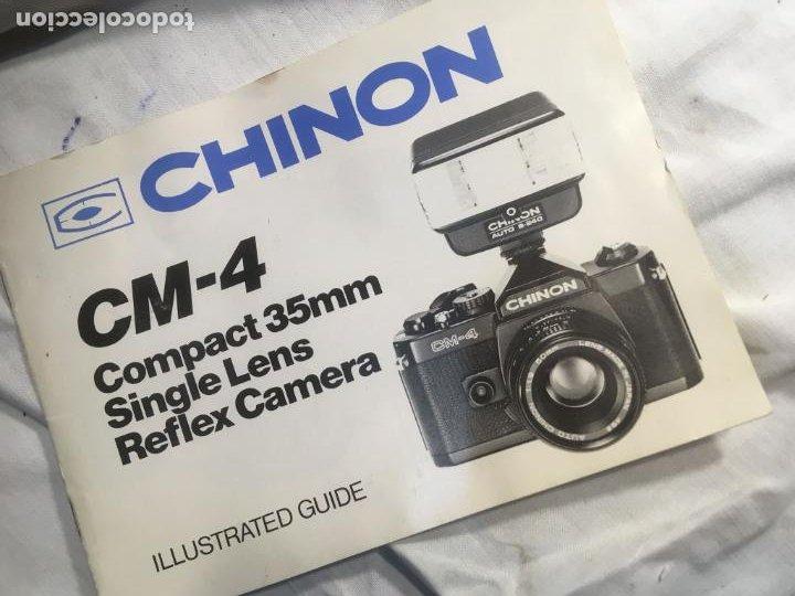Cámara de fotos: Equipo camara de fotos Chinon CS 28 y mm, dos objetivos 50 y 135 mm. funda de piel, fotos - Foto 5 - 244923825