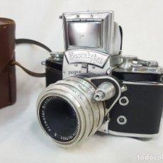 Cámara de fotos: EXAKTA VAREX IIA. MEYER PRIMOTAR. 1957.. Lote 245111570