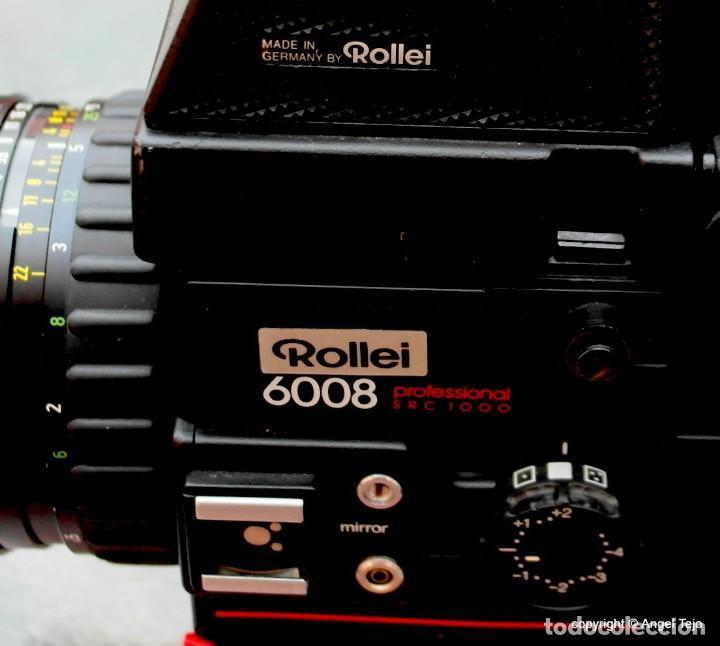 Cámara de fotos: Equipo completo Rolleiflex 6008 Professional SRC 1000.+ 3 lentes. - Foto 5 - 245198805