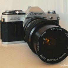Cámara de fotos: CANON AT-1 + ZOOM 28-70MM. Lote 245710510