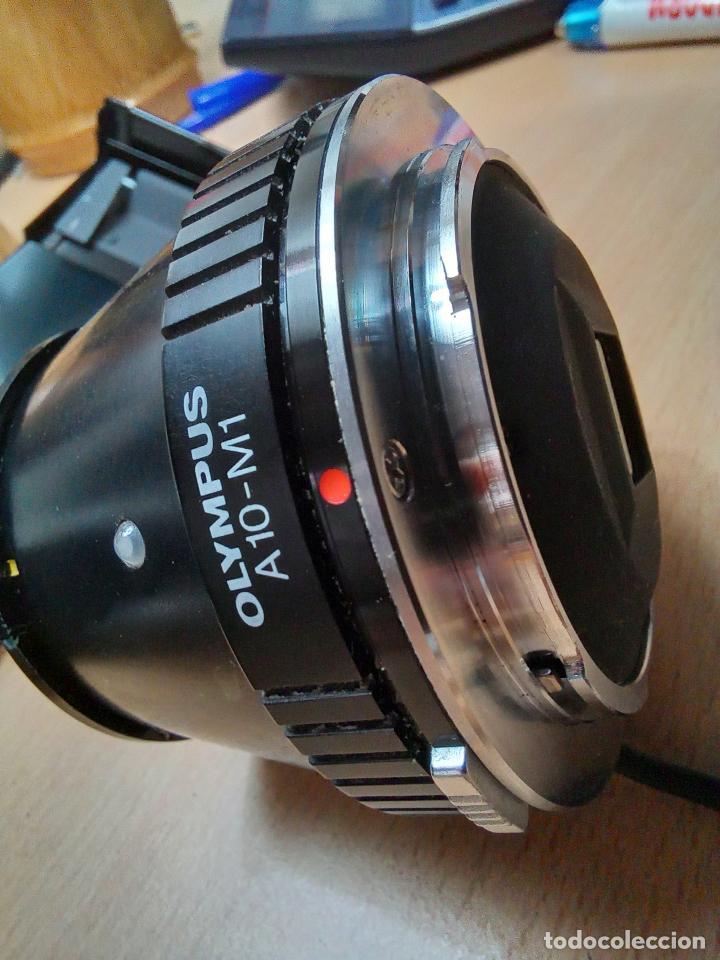 Cámara de fotos: CAMARA REFLEX ANALOGICA OLYMPUS OM-1N CON OPTICA PARA MICROSCOPIO A10-M1 - Foto 6 - 246037765
