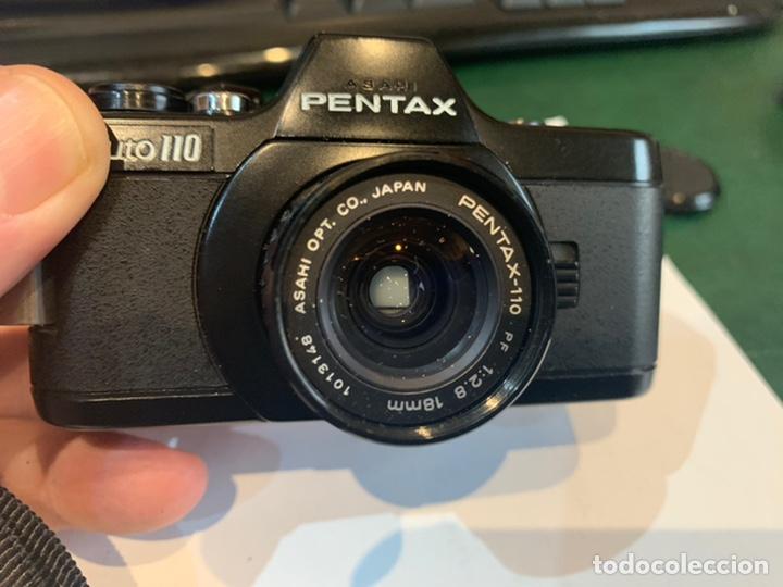 Cámara de fotos: Cámara Pentax Auto 110 año 1978 para coleccionista - Foto 9 - 246653660