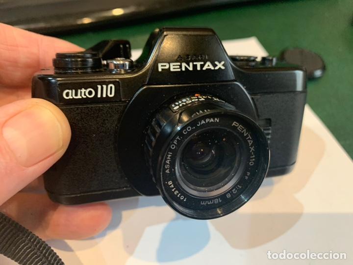 Cámara de fotos: Cámara Pentax Auto 110 año 1978 para coleccionista - Foto 10 - 246653660