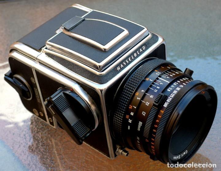 Cámara de fotos: HASSELBLAD 500 CM CLASSIC. Planar 80 F/ 2,8 T*.CF Series, Chasis A-12. - Foto 8 - 246706970