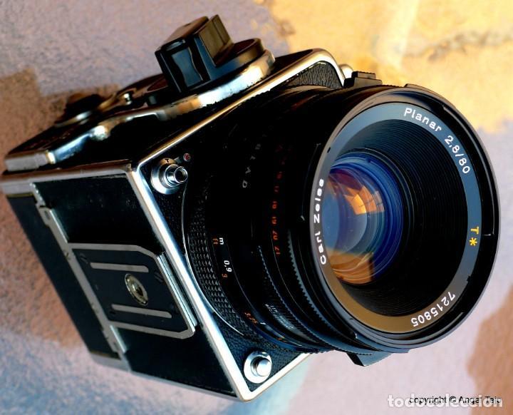 Cámara de fotos: HASSELBLAD 500 CM CLASSIC. Planar 80 F/ 2,8 T*.CF Series, Chasis A-12. - Foto 10 - 246706970