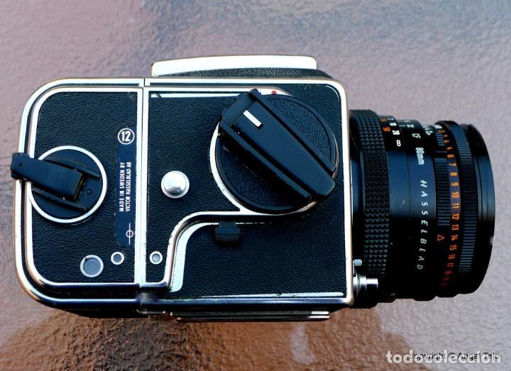 Cámara de fotos: HASSELBLAD 500 CM CLASSIC. Planar 80 F/ 2,8 T*.CF Series, Chasis A-12. - Foto 12 - 246706970