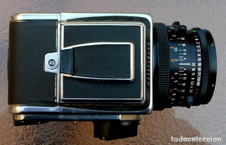 Cámara de fotos: HASSELBLAD 500 CM CLASSIC. Planar 80 F/ 2,8 T*.CF Series, Chasis A-12. - Foto 13 - 246706970