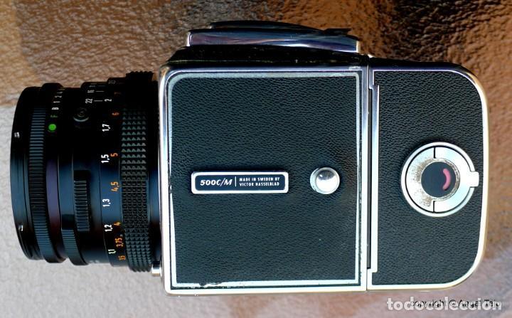Cámara de fotos: HASSELBLAD 500 CM CLASSIC. Planar 80 F/ 2,8 T*.CF Series, Chasis A-12. - Foto 14 - 246706970