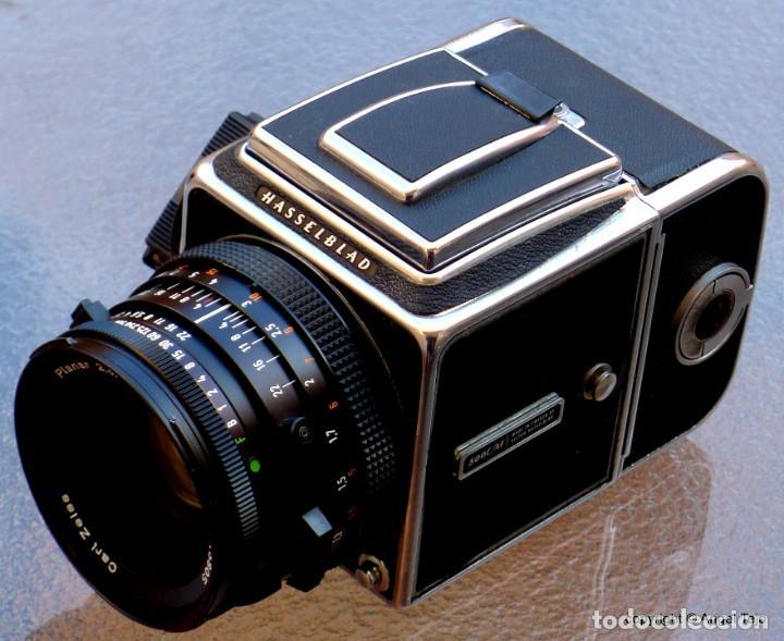 Cámara de fotos: HASSELBLAD 500 CM CLASSIC. Planar 80 F/ 2,8 T*.CF Series, Chasis A-12. - Foto 5 - 246706970