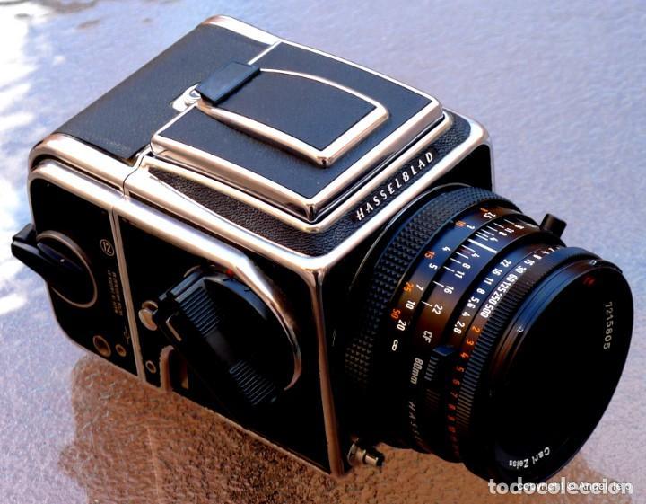Cámara de fotos: HASSELBLAD 500 CM CLASSIC. Planar 80 F/ 2,8 T*.CF Series, Chasis A-12. - Foto 16 - 246706970