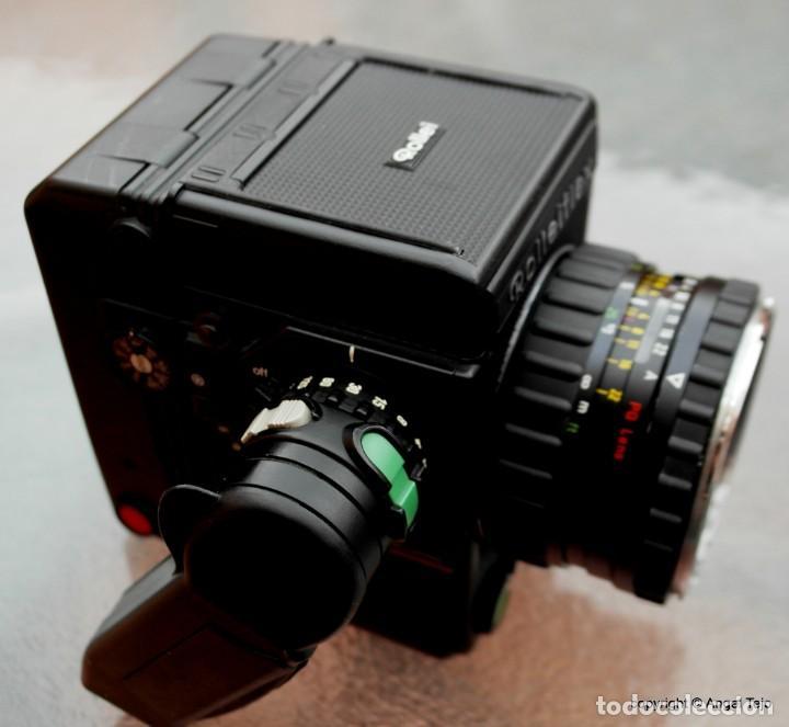 Cámara de fotos: Equipo completo Rolleiflex 6008 Professional SRC 1000.+ 3 lentes. - Foto 4 - 245198805