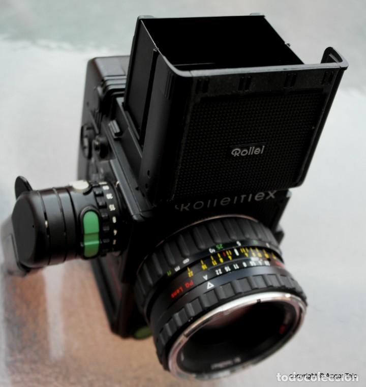 EQUIPO COMPLETO ROLLEIFLEX 6008 PROFESSIONAL SRC 1000.+ 3 LENTES. (Cámaras Fotográficas - Réflex (no autofoco))