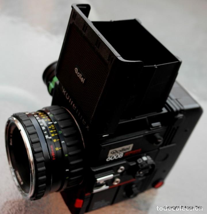 Cámara de fotos: Equipo completo Rolleiflex 6008 Professional SRC 1000.+ 3 lentes. - Foto 3 - 245198805