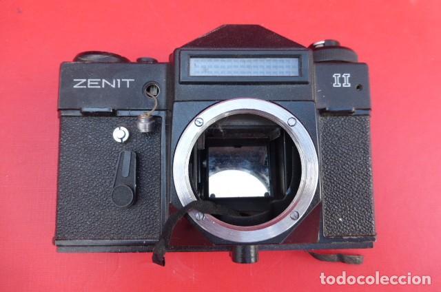 CUERPO CAMARA REFLEX ZENITH, MODELO II,,PARA DESPIECES, DECORACION O COLECCION.AÑOS 90. (Cámaras Fotográficas - Réflex (no autofoco))