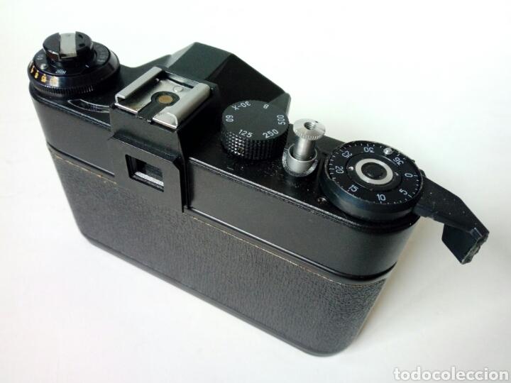Cámara de fotos: (para reparar/piezas) ZENIT ET - cámara réflex - Made in URSSS - analógica, hipster, lomography - Foto 3 - 249110505