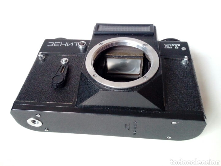 Cámara de fotos: (para reparar/piezas) ZENIT ET - cámara réflex - Made in URSSS - analógica, hipster, lomography - Foto 4 - 249110505