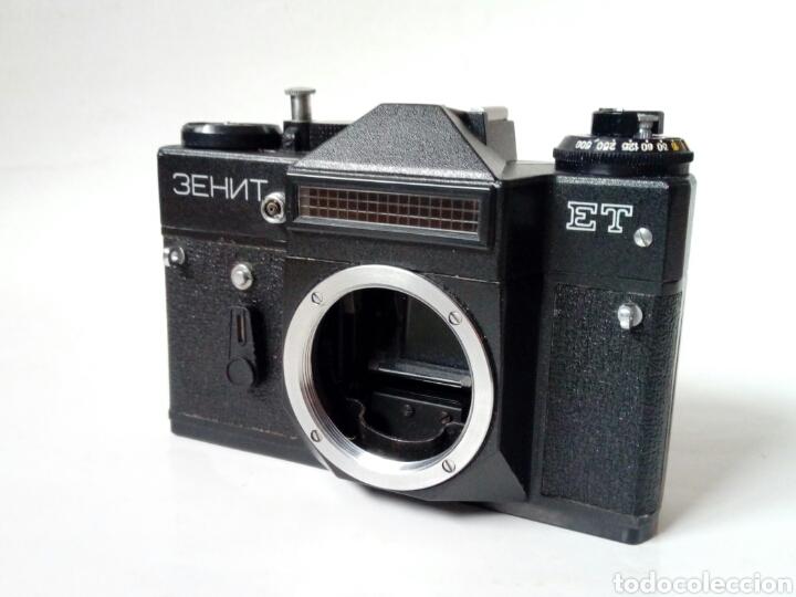 (PARA REPARAR/PIEZAS) ZENIT ET - CÁMARA RÉFLEX - MADE IN URSSS - ANALÓGICA, HIPSTER, LOMOGRAPHY (Cámaras Fotográficas - Réflex (no autofoco))