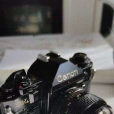 Câmaras de fotos: CAMARA CANON A1 CON FD 50MM 1:1.4.. Lote 251467850