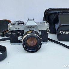 Câmaras de fotos: CANON FT QL CON OBJETIVO CANON 50 MM F: 1.4. Lote 252143260