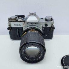 Câmaras de fotos: CANON AE1 CON OBJETIVO CANON S.C. 135 MM - 3.5. Lote 252146350