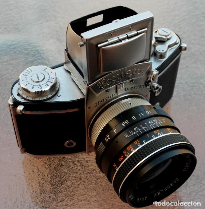 Cámara de fotos: EXAKTA VAREX CLÁSICA CON 35 MM MACRO.Mod. VX IIa + zoom 90-190 - Foto 2 - 252490080