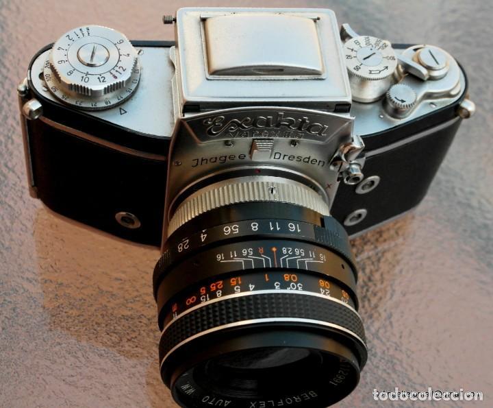 Cámara de fotos: EXAKTA VAREX CLÁSICA CON 35 MM MACRO.Mod. VX IIa + zoom 90-190 - Foto 4 - 252490080