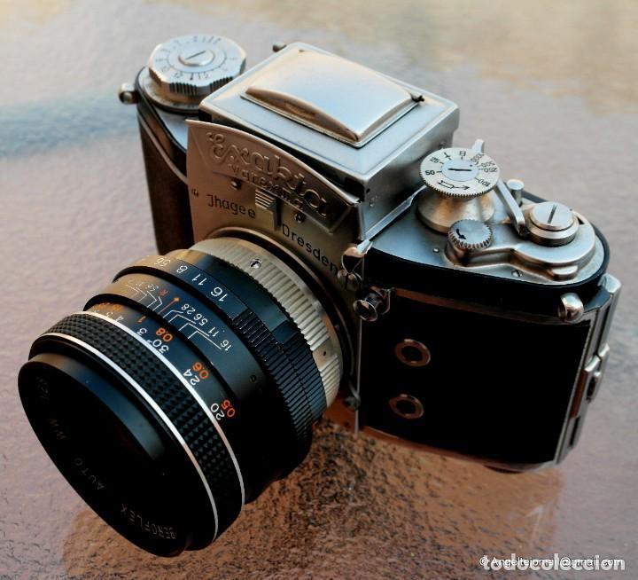 Cámara de fotos: EXAKTA VAREX CLÁSICA CON 35 MM MACRO.Mod. VX IIa + zoom 90-190 - Foto 5 - 252490080