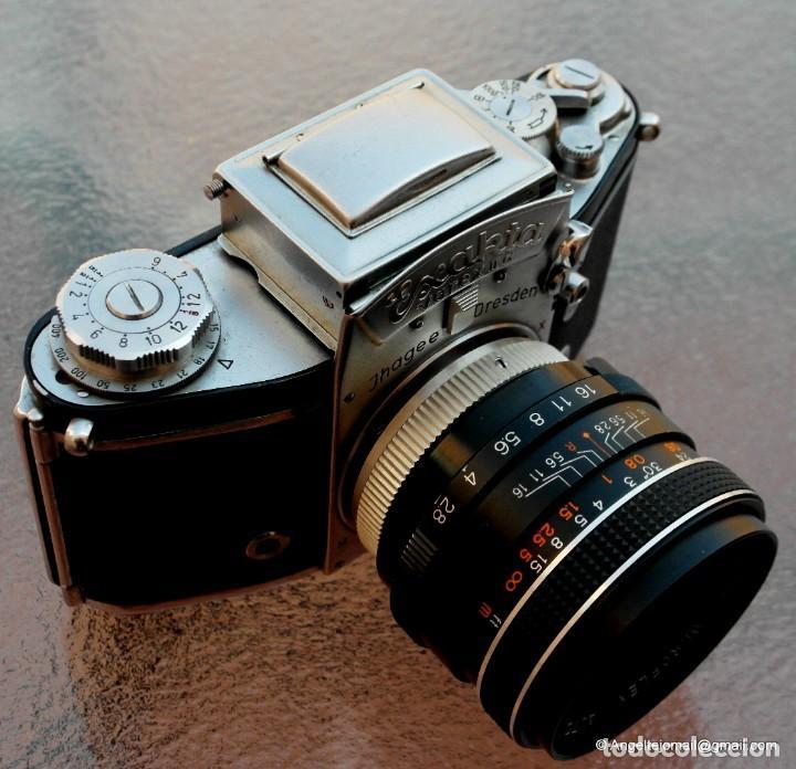 Cámara de fotos: EXAKTA VAREX CLÁSICA CON 35 MM MACRO.Mod. VX IIa + zoom 90-190 - Foto 6 - 252490080