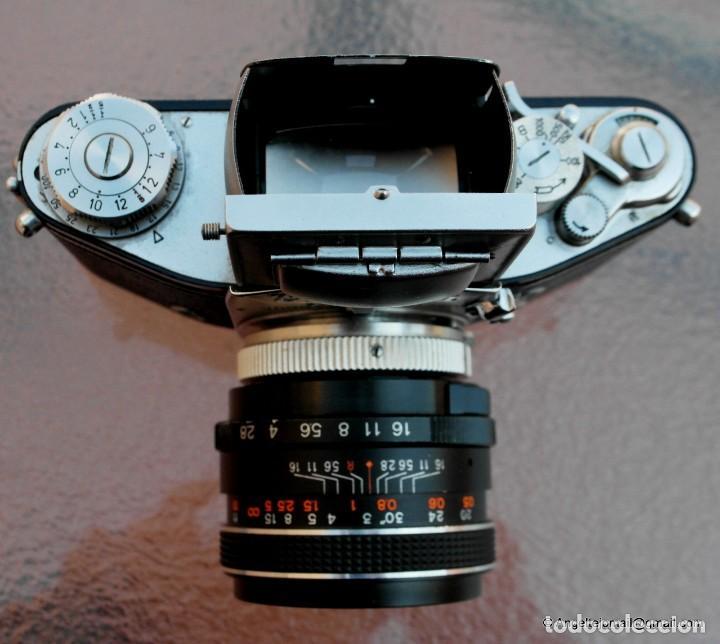 Cámara de fotos: EXAKTA VAREX CLÁSICA CON 35 MM MACRO.Mod. VX IIa + zoom 90-190 - Foto 7 - 252490080