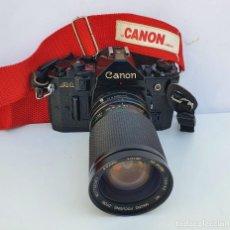 Câmaras de fotos: CANON A1 CON OBJETIVO FD VIVITAR. Lote 252814980
