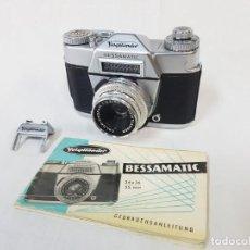 Cámara de fotos: VOIGTLANDER BESSAMATIC. 1959.. Lote 253027865