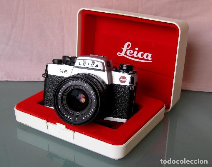 LEICA R6 CON ELMARIT 2.8/35 - NECESITA SERVICIO TÉCNICO (Cámaras Fotográficas - Réflex (no autofoco))