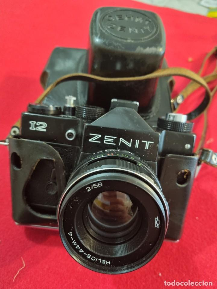 CAMARA DE FOTO ZENIT 12 (Cámaras Fotográficas - Réflex (no autofoco))