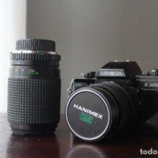 Cámara de fotos: MINOLTA X-300S - CÁMARA SLR CON 2 OBJETIVOS. Lote 254387145