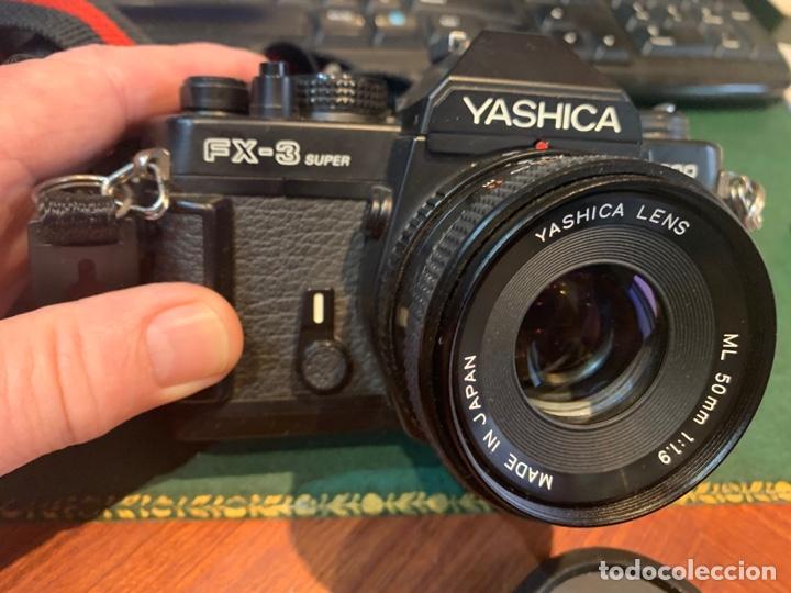 Cámara de fotos: Yashica Fe-3 súper 2000 + Lente Yashica 50 mm + manual instrucción y funda - Foto 3 - 254861685