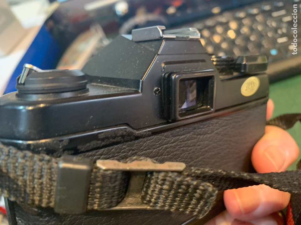 Cámara de fotos: Yashica Fe-3 súper 2000 + Lente Yashica 50 mm + manual instrucción y funda - Foto 5 - 254861685