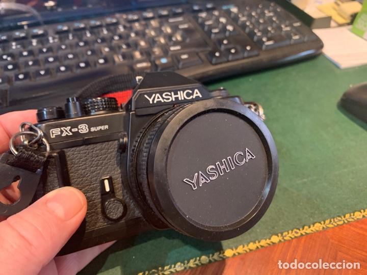 Cámara de fotos: Yashica Fe-3 súper 2000 + Lente Yashica 50 mm + manual instrucción y funda - Foto 7 - 254861685