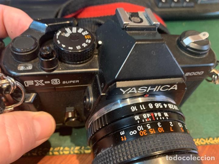 Cámara de fotos: Yashica Fe-3 súper 2000 + Lente Yashica 50 mm + manual instrucción y funda - Foto 8 - 254861685