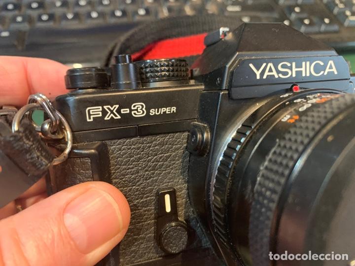 Cámara de fotos: Yashica Fe-3 súper 2000 + Lente Yashica 50 mm + manual instrucción y funda - Foto 9 - 254861685