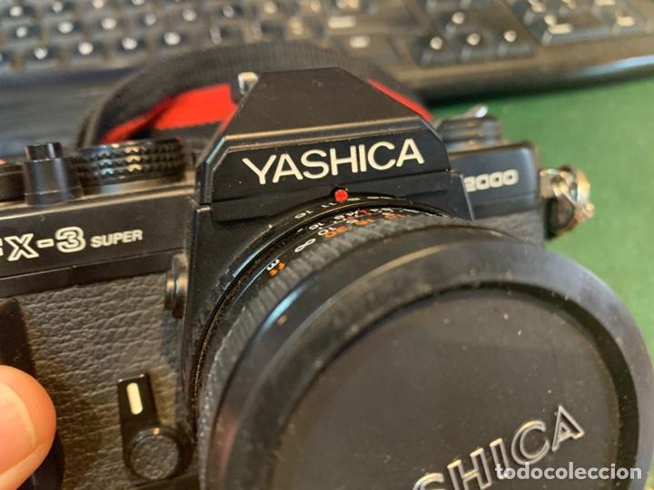 Cámara de fotos: Yashica Fe-3 súper 2000 + Lente Yashica 50 mm + manual instrucción y funda - Foto 10 - 254861685