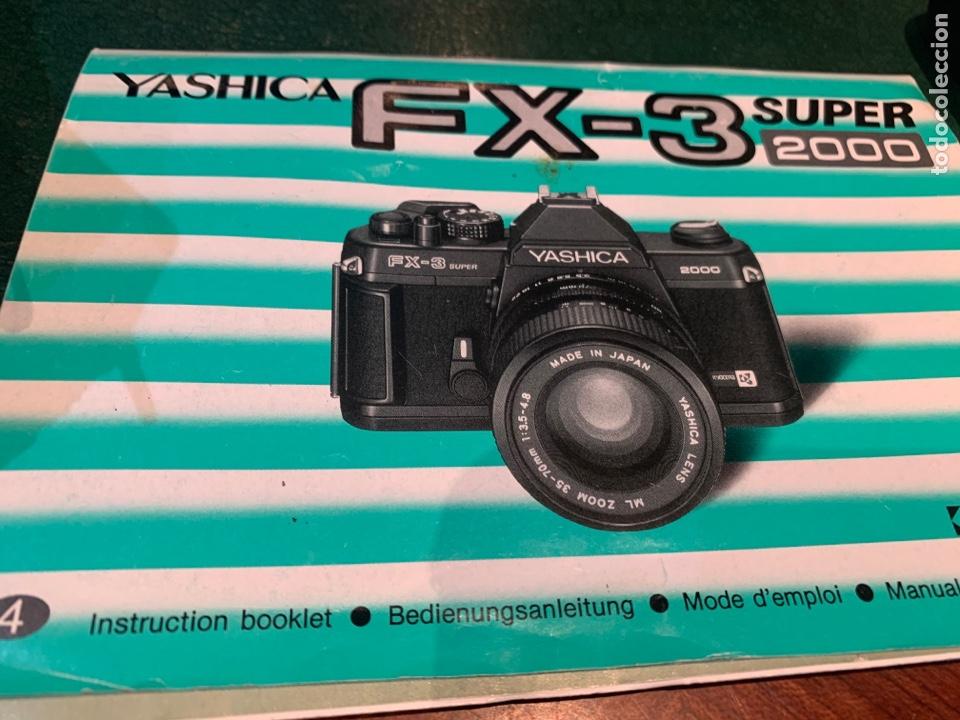 Cámara de fotos: Yashica Fe-3 súper 2000 + Lente Yashica 50 mm + manual instrucción y funda - Foto 14 - 254861685