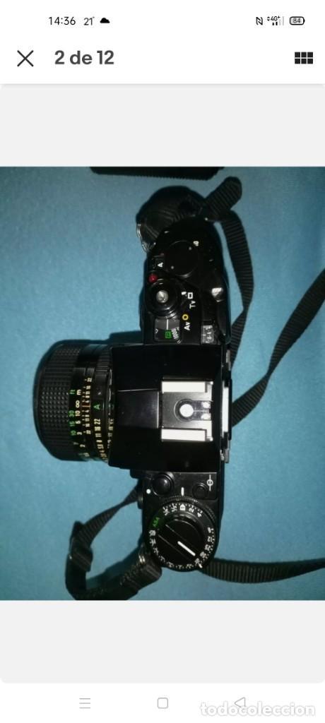 Cámara de fotos: Canon A1 + 3 objetivos originales + flhas + data - Foto 3 - 255395140