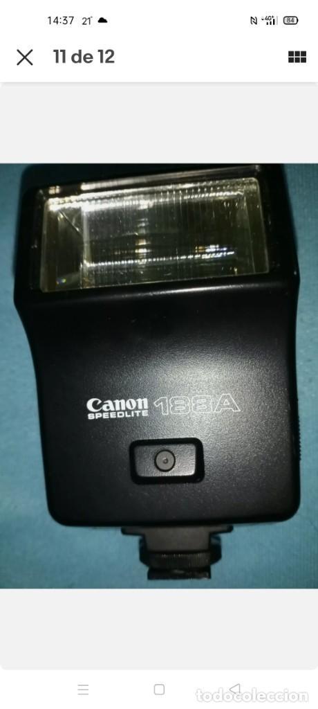 Cámara de fotos: Canon A1 + 3 objetivos originales + flhas + data - Foto 5 - 255395140