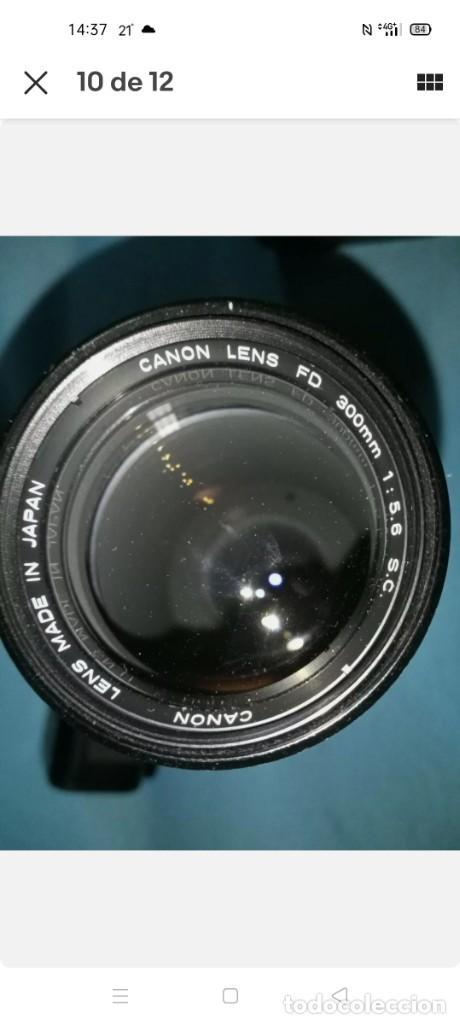 Cámara de fotos: Canon A1 + 3 objetivos originales + flhas + data - Foto 6 - 255395140