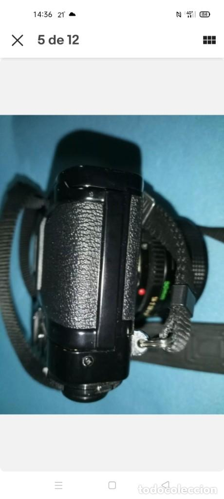 Cámara de fotos: Canon A1 + 3 objetivos originales + flhas + data - Foto 7 - 255395140
