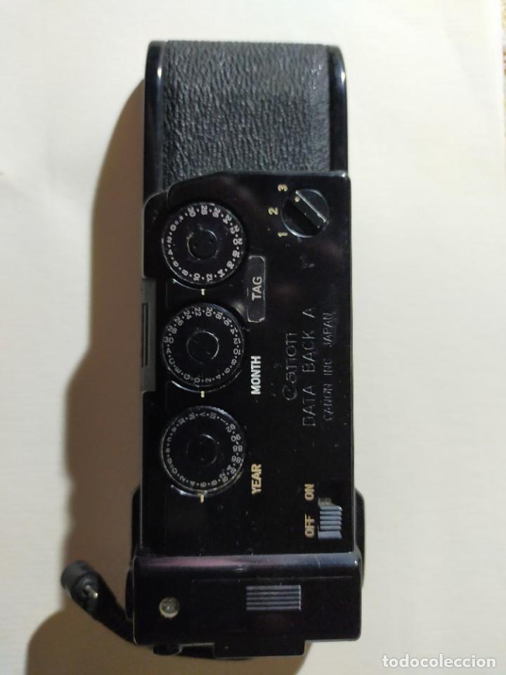 Cámara de fotos: Canon A1 + 3 objetivos originales + flhas + data - Foto 9 - 255395140