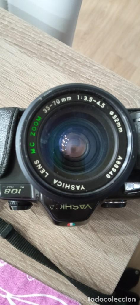 Cámara de fotos: cámara fotográfica 108 yashica multiprogram kyocera japón completa - Foto 7 - 256163025