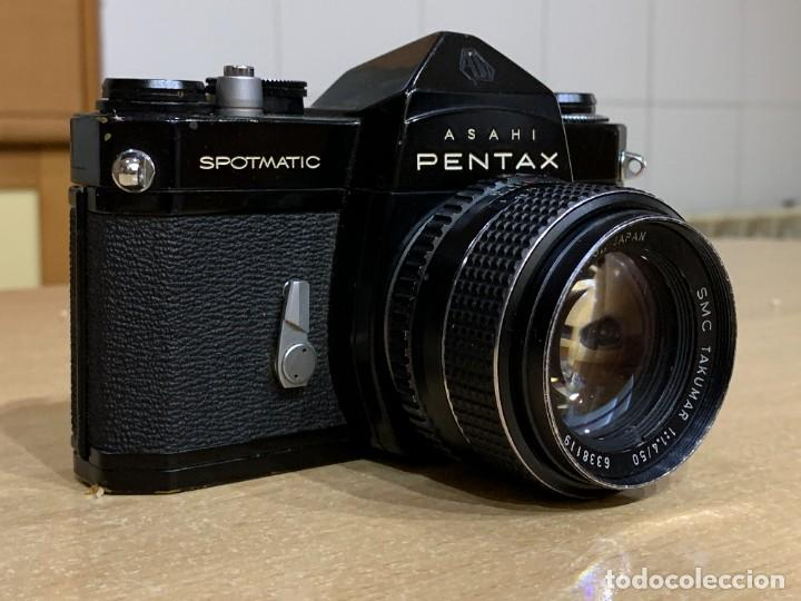 Cámara de fotos: ASAHI PENTAX SPOTMATIC SP CON TAKUMAR 50MM 1.4 - Foto 2 - 257429355