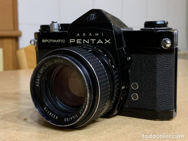 Cámara de fotos: ASAHI PENTAX SPOTMATIC SP CON TAKUMAR 50MM 1.4 - Foto 3 - 257429355